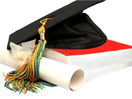 book-with-mortarboard